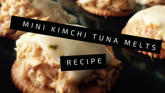 Mini kimchi tuna melts | Riseandbrine.com