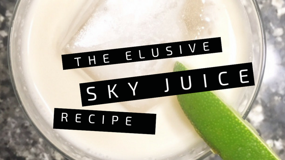 The Elusive Sky Juice Cocktail Recipe