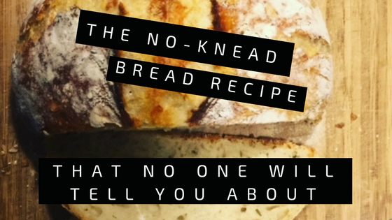 No knead Bread Cover