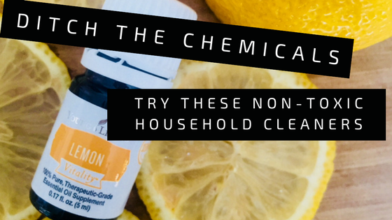 ditch the chemicals: Try these non-toxic DIY cleaners