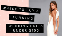 Where to Buy Stunning Wedding Dresses Under $100