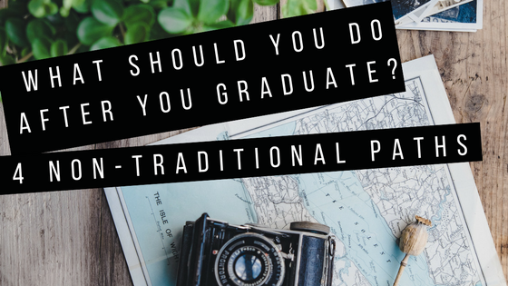 What should you do after you graduate from college?
