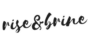 Rise & Brine Homepage