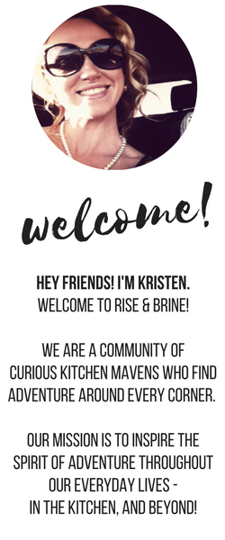 Welcome to Rise & Brine!