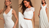 20 Wedding Dresses under $120 [Summer 2020 edition]