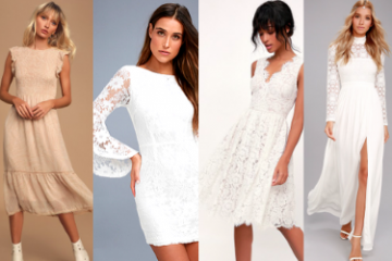 Casual Wedding Dresses Under $100