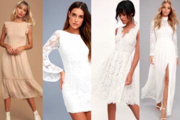 Casual Wedding Dresses Under $100